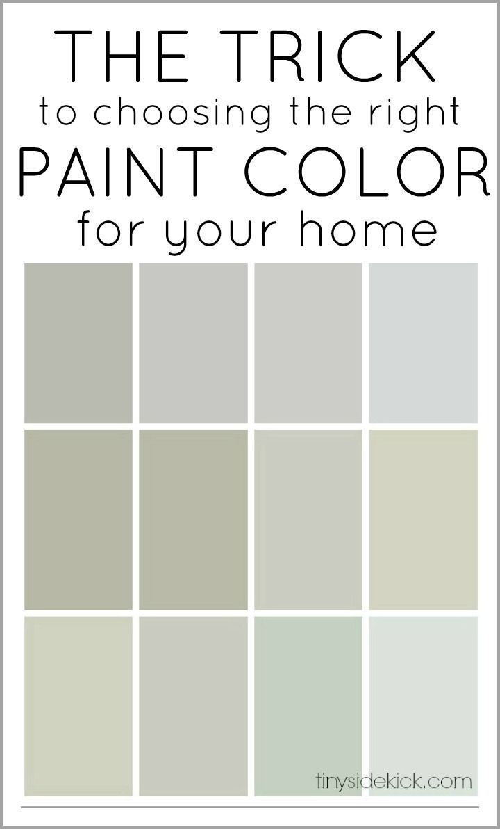 The Trick To Choosing Right Paint Color For Your Home Such A Great Explanation Of How Pick So You Don T End Up With Weird