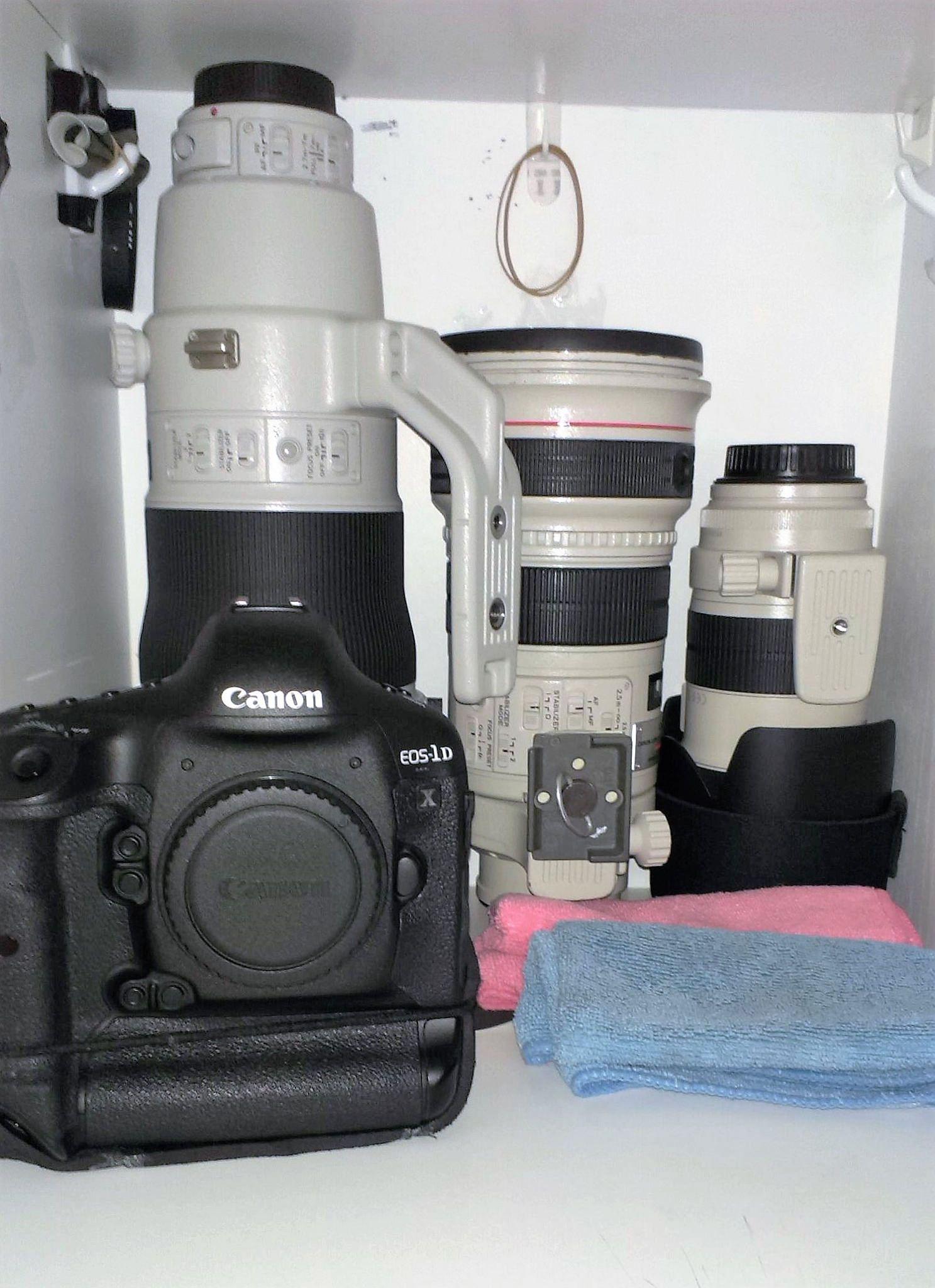 Canon 1Dx , EF 400mm f2.8L IS II ,EF 300mm f2.8L IS ,EF 70-200mm f2 ...