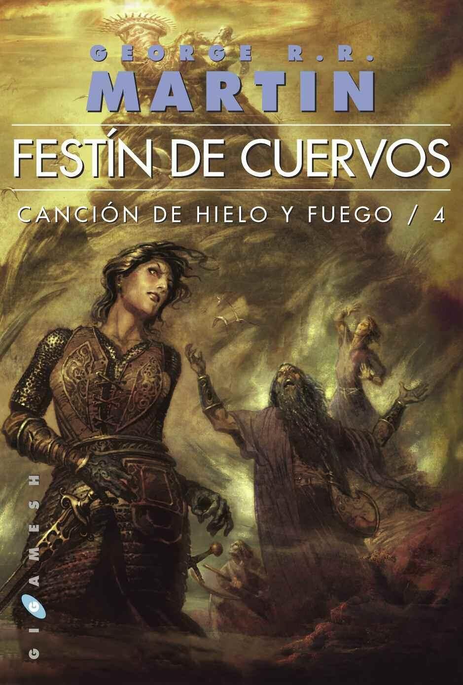 Festín de Cuervos | Juego de tronos libros, Cancion de hielo ...