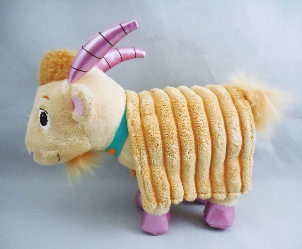 Disney Doc Mcstuffins Pet Vet 6 Marla The Goat Plush Stuffed Animal Just Play Disney Pet Vet Doc Mcstuffins Pet Vet Plush Stuffed Animals