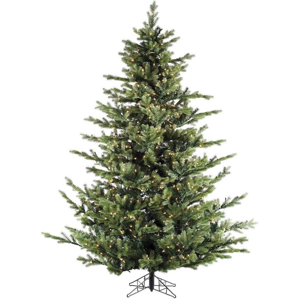 Fraser Hill Farm 12 0 Ft Pre Lit Led Foxtail Pine Artificial Christmas Tree With 2100 Clear Lights And Ez Connect Pine Christmas Tree Fraser Hill Artificial Tree