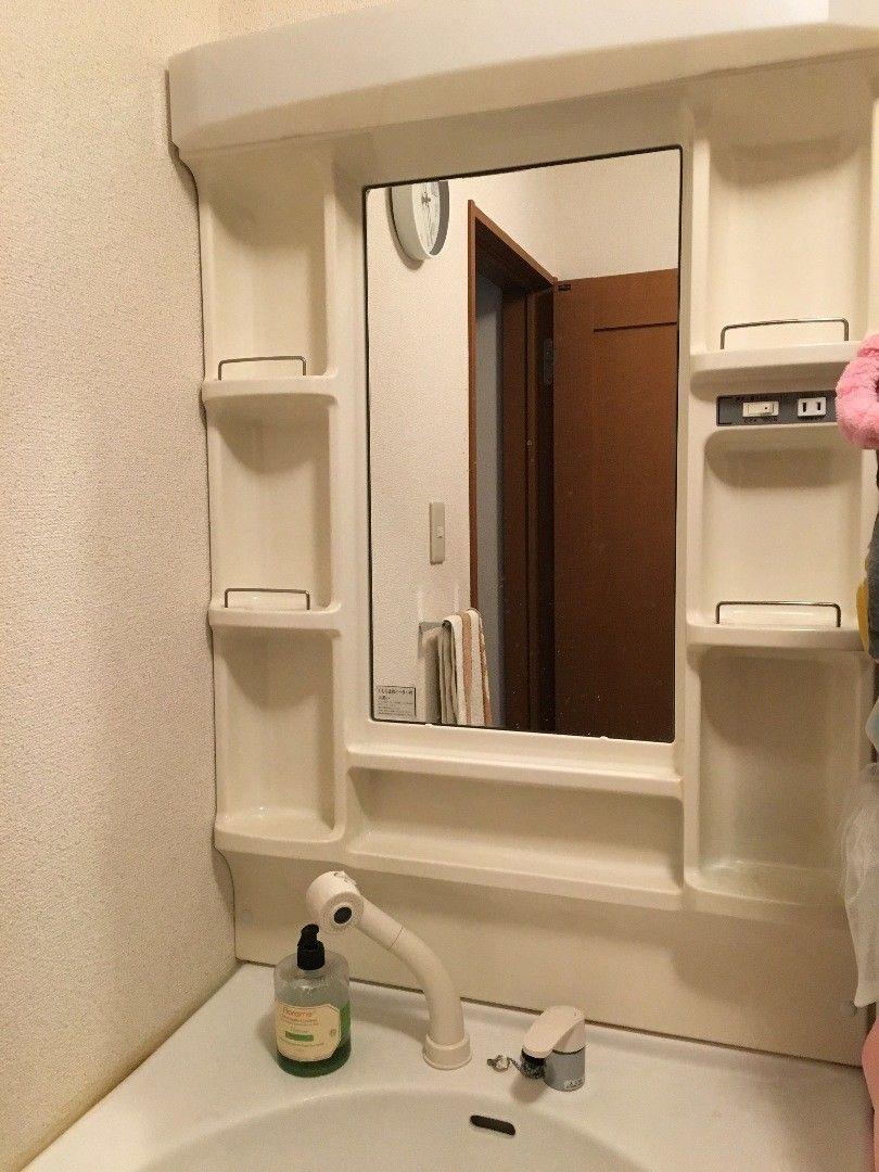 意外に簡単 Diyで洗面台をオシャレに変身 洗面台 洗面所 簡単 Diy