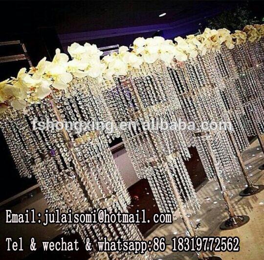 Wholesale high chandelier flower stand centerpieces for wedding wholesale high chandelier flower stand centerpieces for wedding walkway lead road 2200 event junglespirit Choice Image
