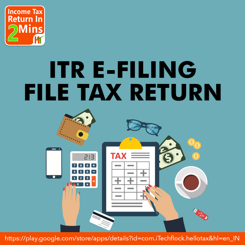 ITR E-Filing - Income Tax Return App- Welcome to the one stop App