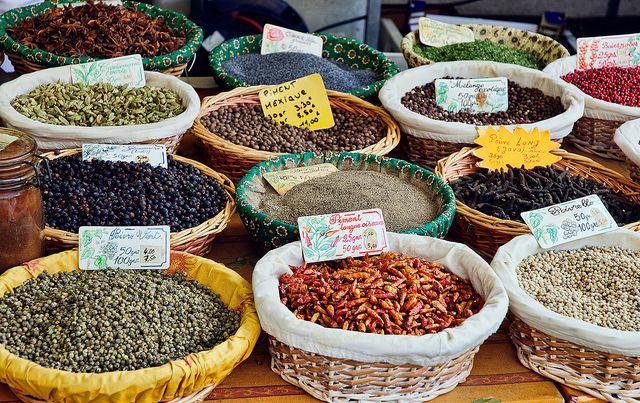 Saturday Market in Aix-en-Provence: Spices