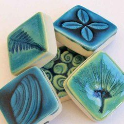 How cute are these little wall art tile touchstones http://www ...