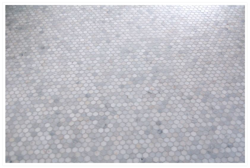 A Hex Upon You Marble Tile
