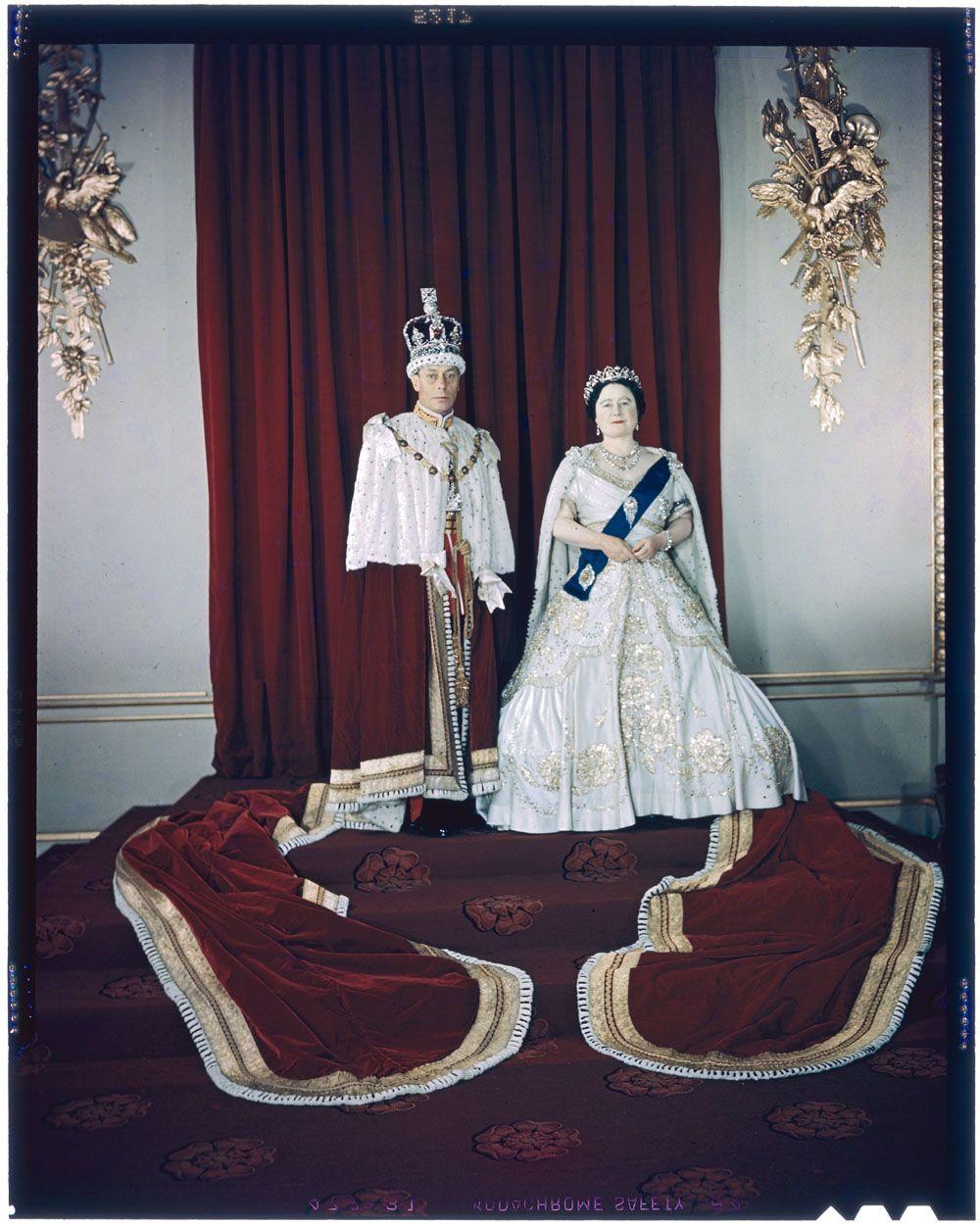 King VI and Queen Elizabeth, 1950 Queen elizabeth