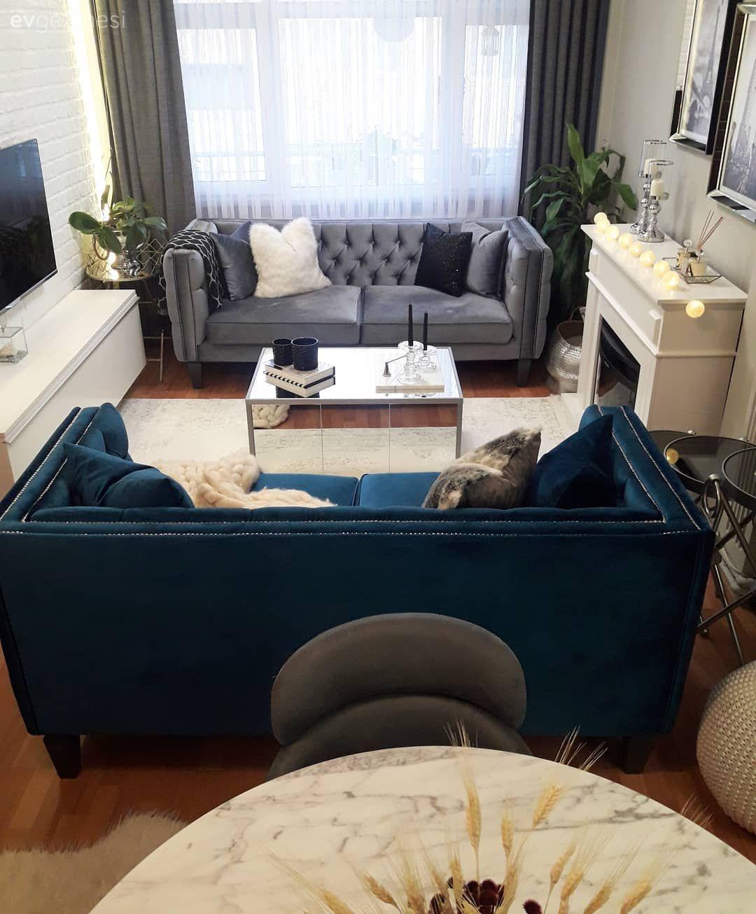 Yeni Mobilyalar, Yepyeni Bir Ortam. Aygül Hanımın Evi #wohnzimmerideen