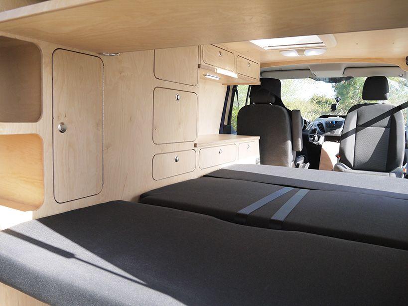 ford transit custom erwan ld camp van pinterest fourgon fourgon am nag et trafic. Black Bedroom Furniture Sets. Home Design Ideas