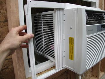 window air conditioner installation ethical and green living pinterest window air. Black Bedroom Furniture Sets. Home Design Ideas