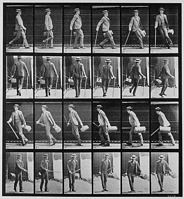 Eadweard Muybridge . Moves