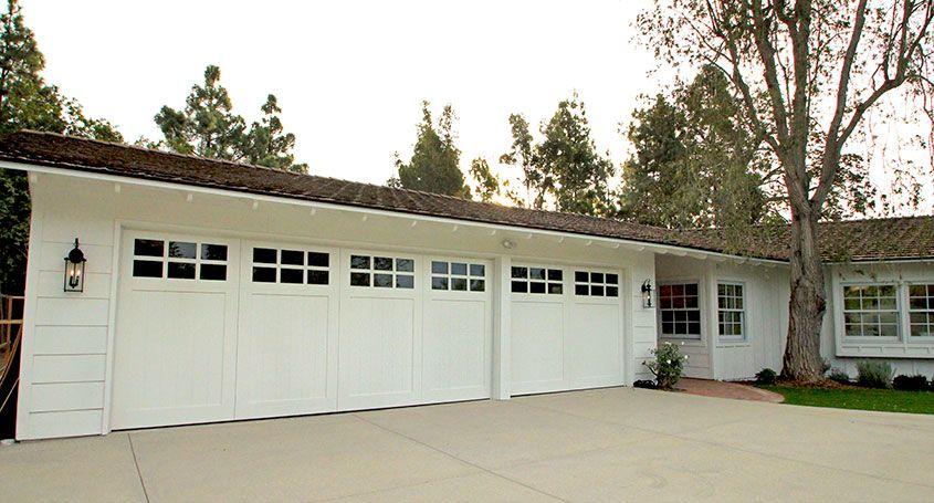 Painted Wood Garage Doors With Windows. Custom Made By Garage Doors  Unlimited In San Diego, CA