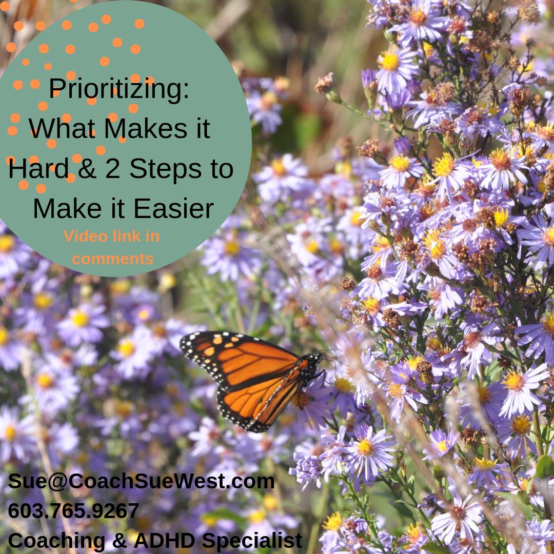 Prioritizing 2 Steps To Make It Easier