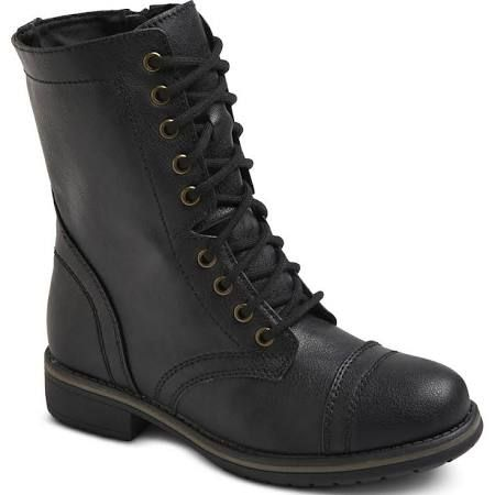223dd2471e7 Target Mossimo Supply Co. Women s Gwen Combat Boots --- 11th DOCTOR ...