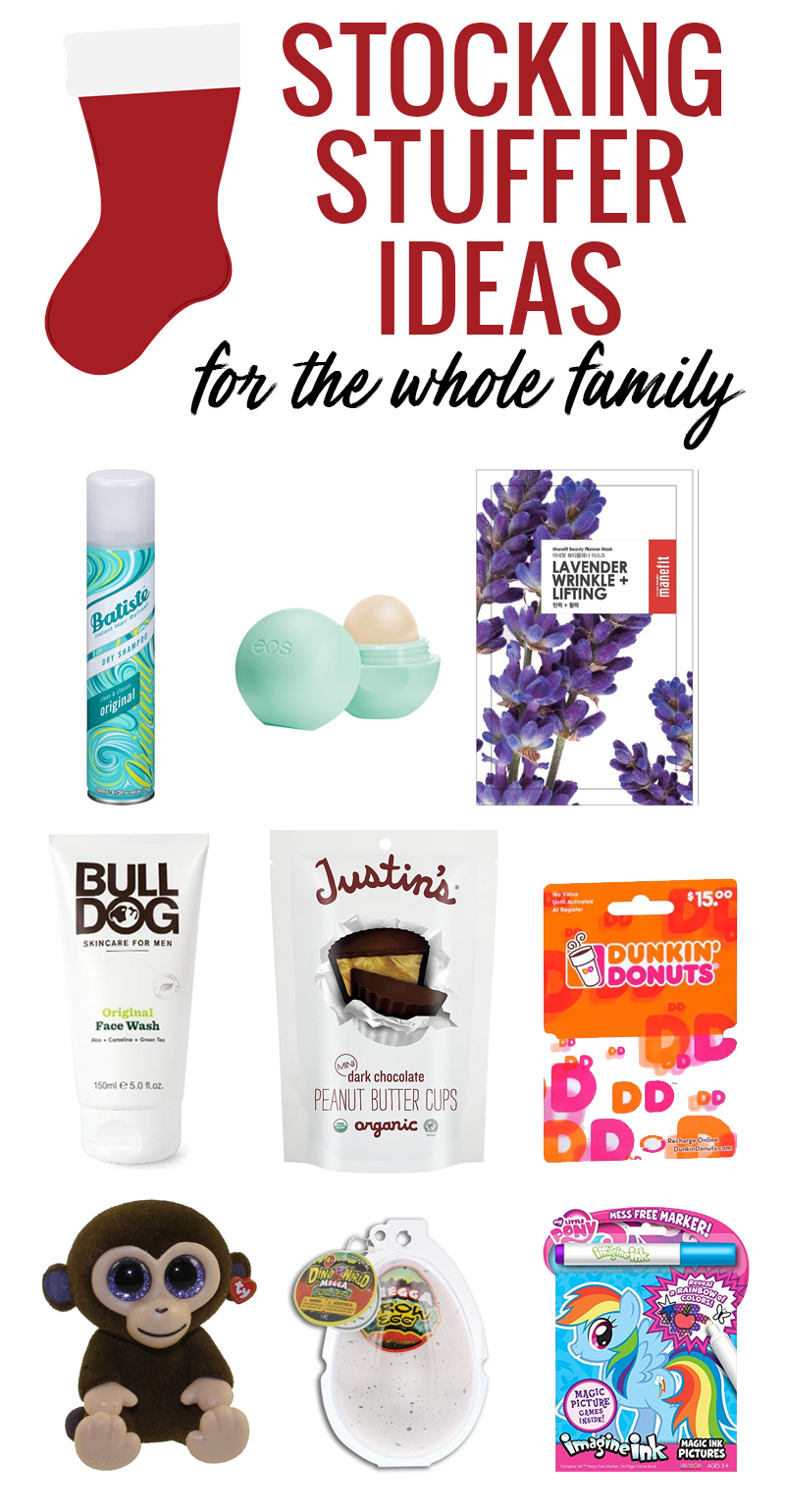 Stocking Stuffer Ideas for the Whole Family | Gifts For Everyone on ...