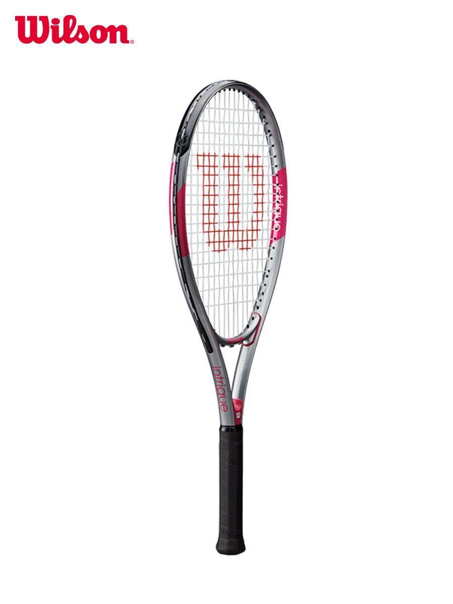 Original Wilson Beginner Tennis Racket Training Series Men And Women Singles Beginners Ultra Intrigue Wrt3043002 Origin Beginner Tennis Tennis Racket Rackets