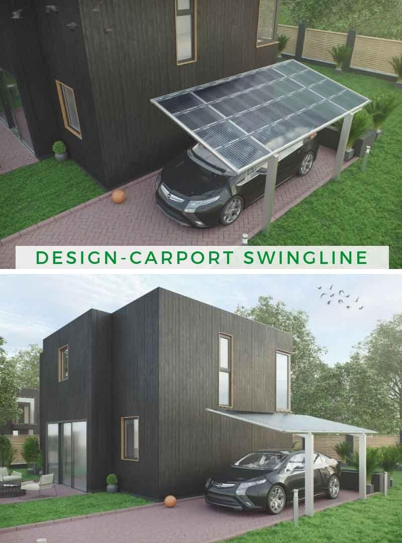 Carport Ideen Ximax Design Carport Swingline Carport Carport Aus Aluminium Dachformen