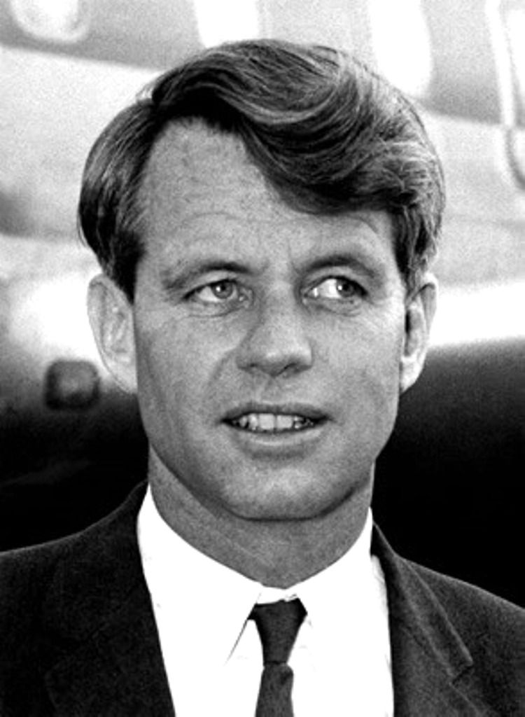 "Robert Francis Kennedy (November 20, 1925 – June 6, 1968), commonly known as ""Bobby"" or by his initials RFK, was an American politician, who served as a Senator for New York from 1965 until his assassination in 1968. He was previously the 64th U.S. Attorney General from 1961 to 1964, serving under his older brother, President John F. Kennedy.❤♡❤♡❤♡❤♡❤♡❤  http://en.wikipedia.org/wiki/Robert_F._Kennedy"