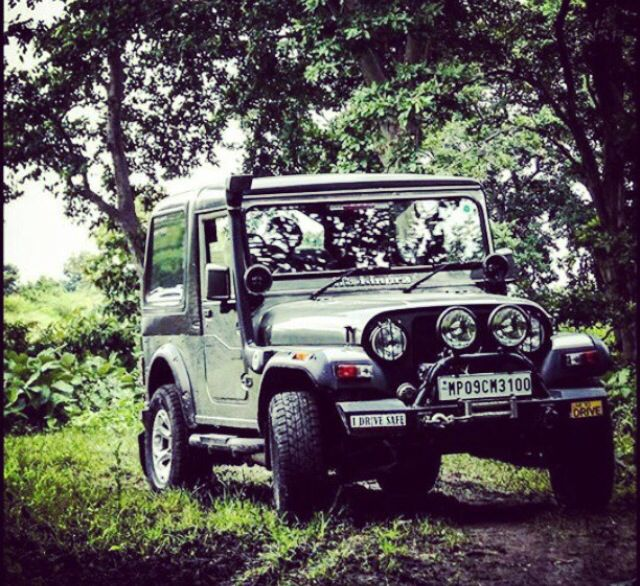 Jeep Car Wallpaper: Mahindra That.........the Beast That Stand S Apart