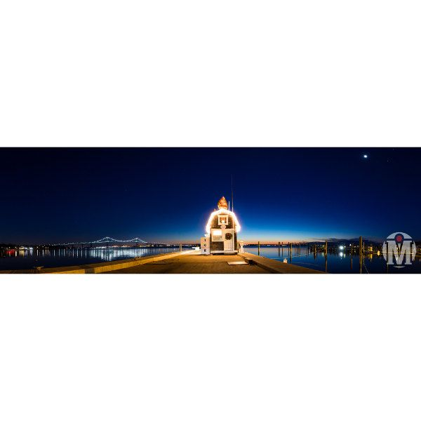 Jamestown Harbor Christmas by MerskiPhotography on Etsy
