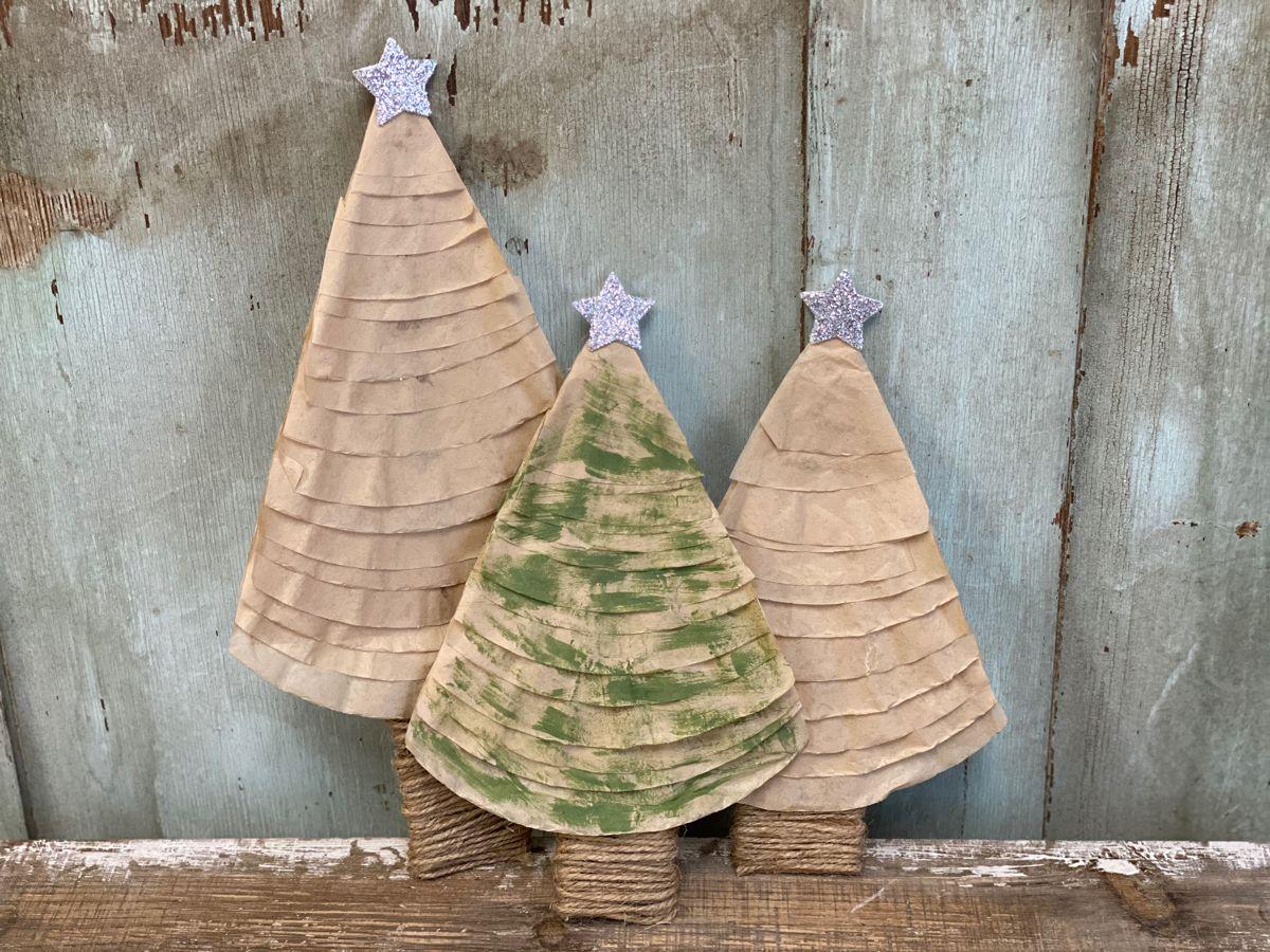 DIY Coffee Filter Tree Ornament   The Shabby Tree   Christmas ...