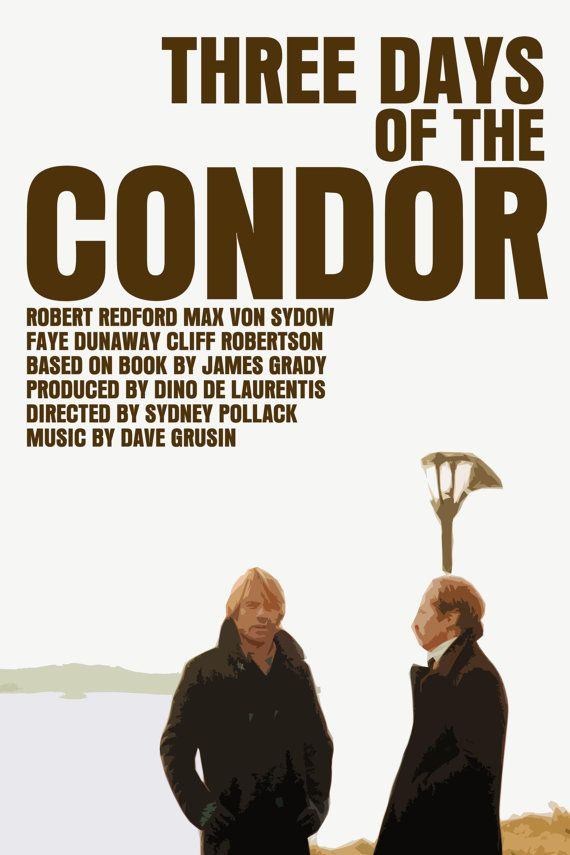 Resultado de imagen de the three days of the condor