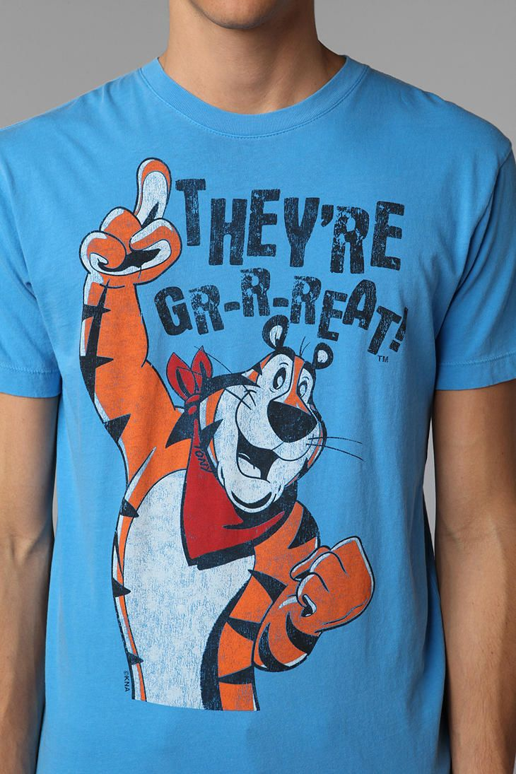 e689fcd42 Tony The Tiger Tee #UrbanOutfitters | give me a T | Urban outfitters ...