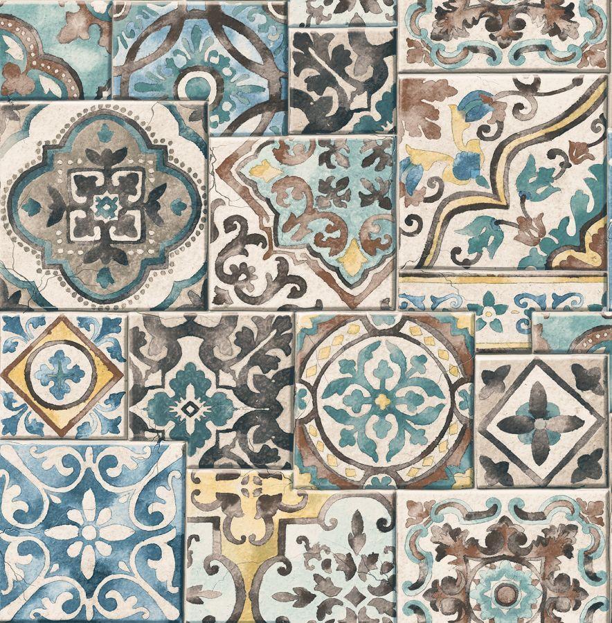 Details zu Rasch Textil Vlies Tapete Reclaimed 022315 Fliese ...