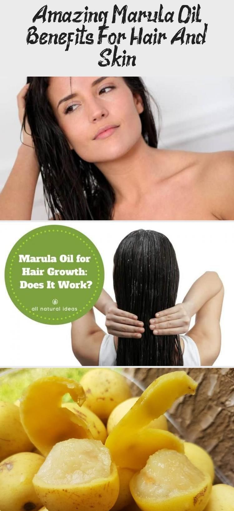 Hair Supplement} and Using marula oil for hair growth is becoming more popular. But does it really work and are the benefits any different than using other oils such as argan? #hair #hairgrowth | allnaturalideas.com via @allnaturalideas #Indianhairgrowth #hairgrowthSerum #hairgrowthForKids #hairgrowthGummies #hairgrowthRecipes