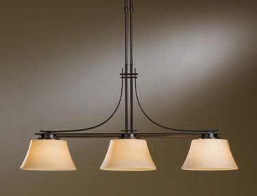 Hubbardton Forge 132125 3 Light Down Island Billiard Fixture From The Modern Prairie Collection