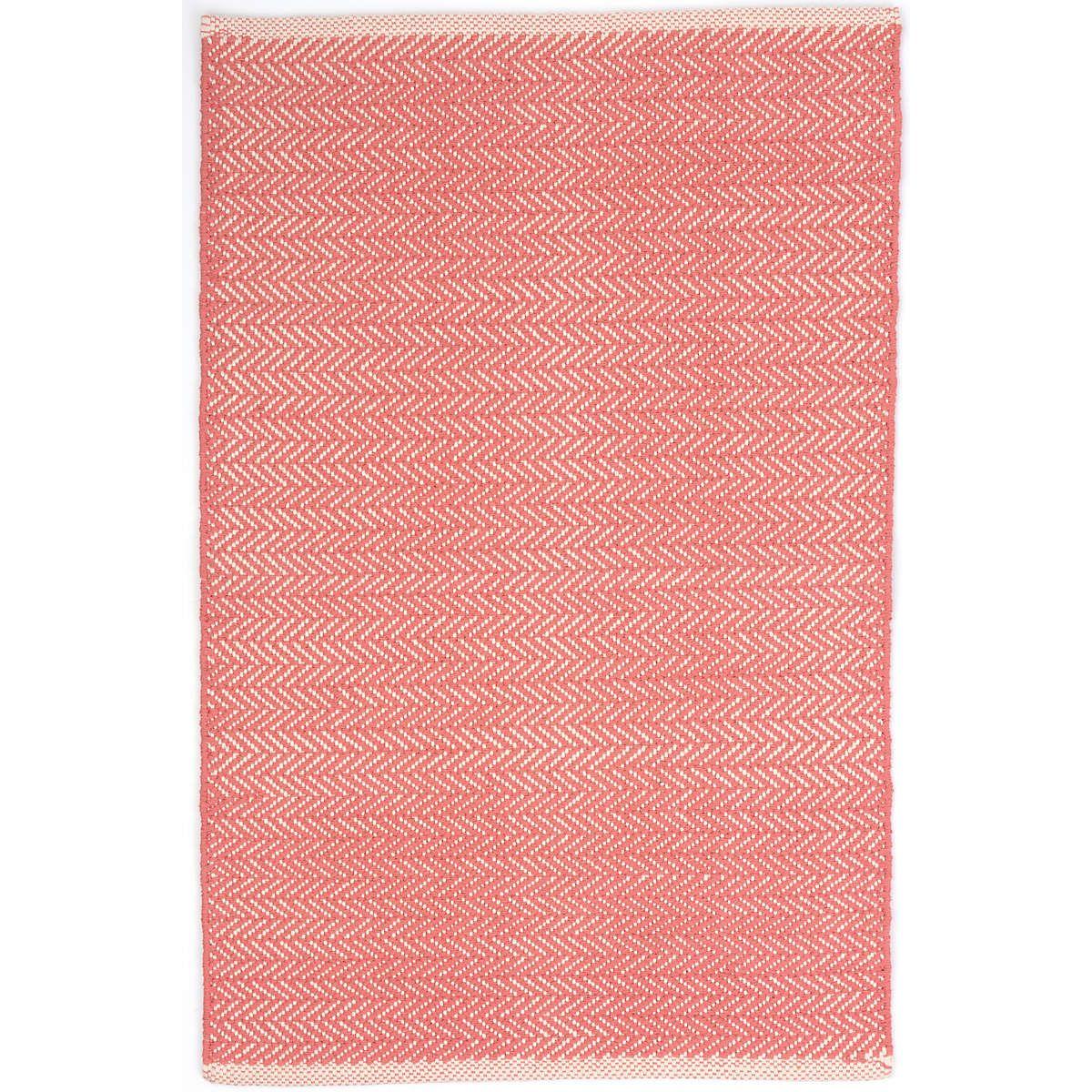 Herringbone C Woven Cotton Rug