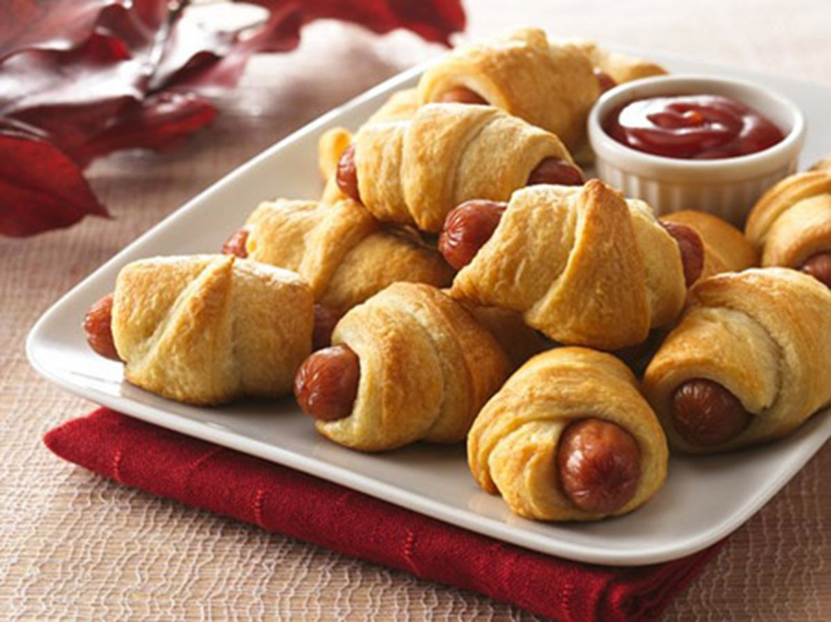 Food network appetizers finger foods birthday party appetizers sausage snack wraps recipe from betty crocker forumfinder Images