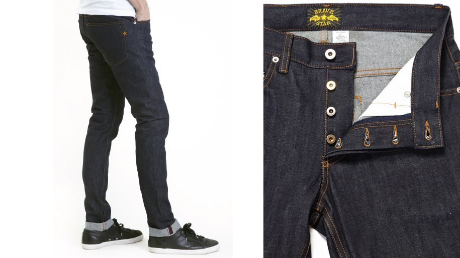 Layer on the Denim for a Modern, Stylish Look: Brave Star Selvage The Skeleton Skinny