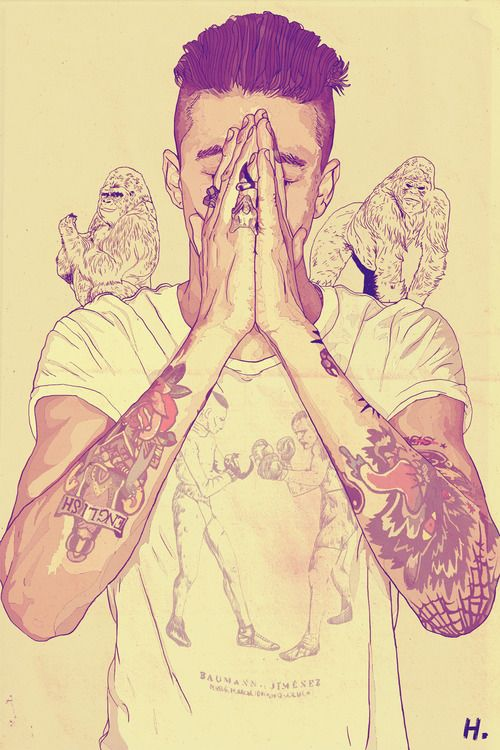 Draw Drawing Tatto Swag Style Boy Pray With Images