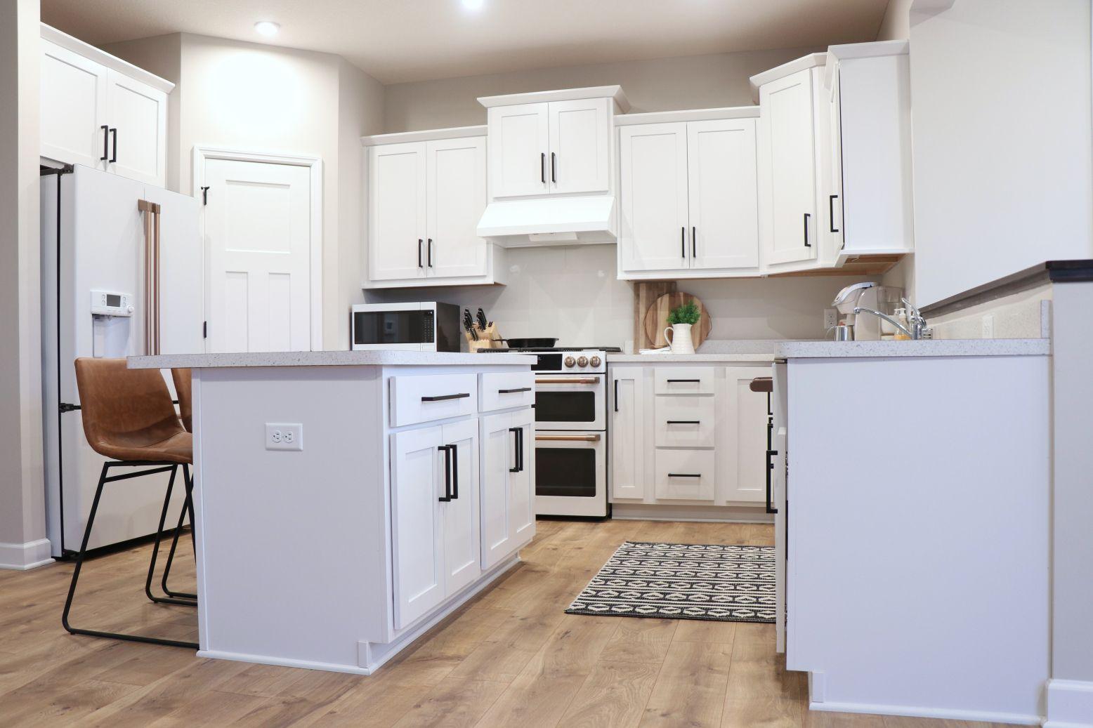 diy or buy: cabinet hardware | buy cabinets, cabinet hardware, modern farmhouse kitchens