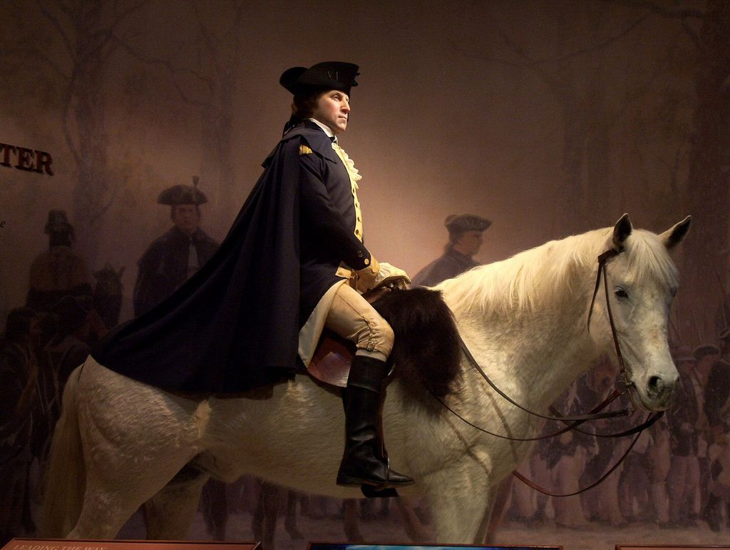 General George Washington At 45