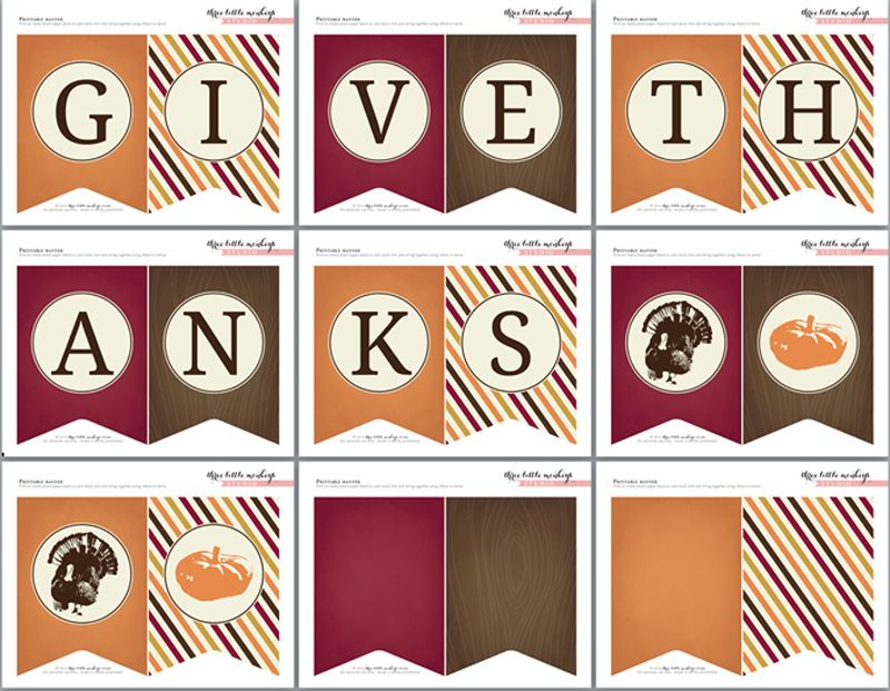 image about Printable Thanksgiving Banner referred to as free of charge-thanksgiving-banner and other tremendous adorable matching