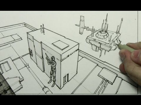 Pin By Andre Mychal On Elements Of Design Video Tutorial Drawings 3 Point Perspective Drawing Lessons