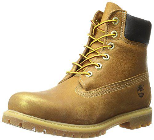Timberland  6in Premium,  Damen Stiefel , Braun - Wheat Rub Off Gold Leather - Größe: 35.5 - http://uhr.haus/timberland/35-5-timberland-6-inch-premium-ftb-6-inch-w-10361-4