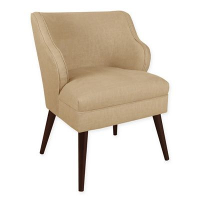 Awe Inspiring Skyline Furniture Wesley Accent Chair In Sandstone In 2018 Machost Co Dining Chair Design Ideas Machostcouk
