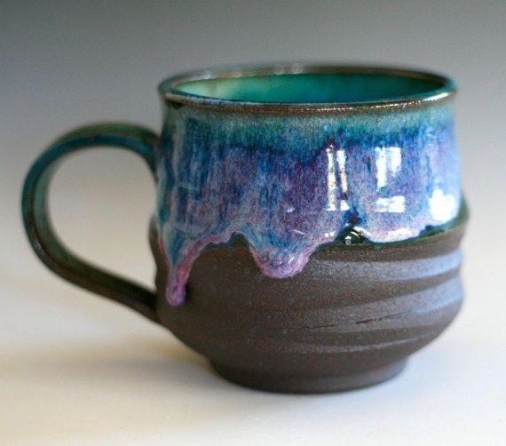 Best large handmade ceramic mug products on wanelo clay for Pottery designs with clay