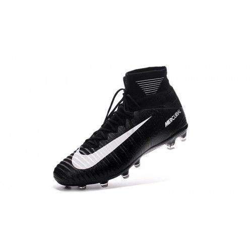 timeless design 31974 d0c79 Nike Mercurial - Comprar Nike Mercurial Superfly V AG Negro Blanco Online  Zapatos De Futbol