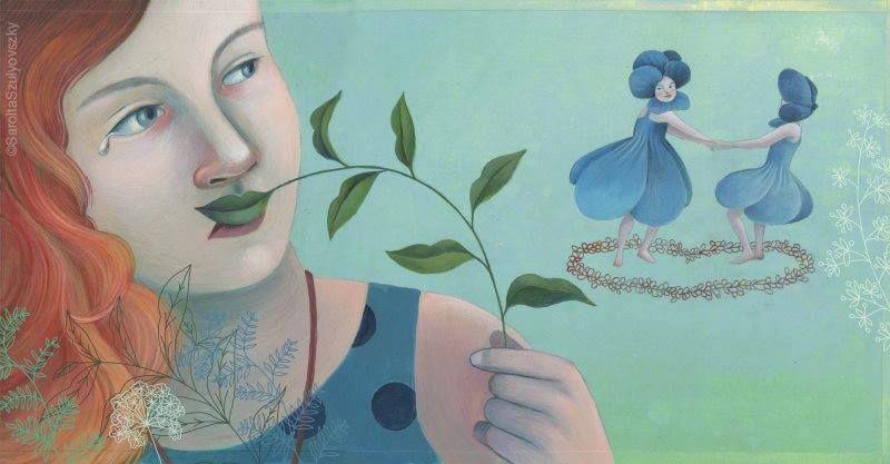 ilustración de Sarolta Szulyovszky
