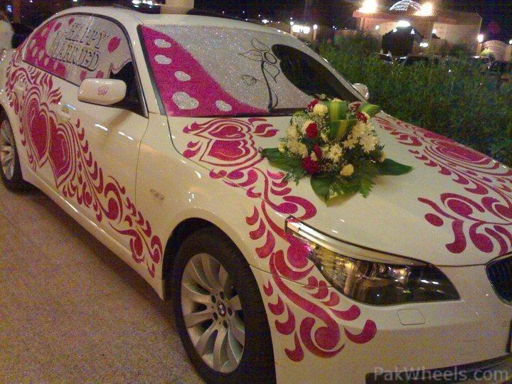 Couture Wedding Transport Decor