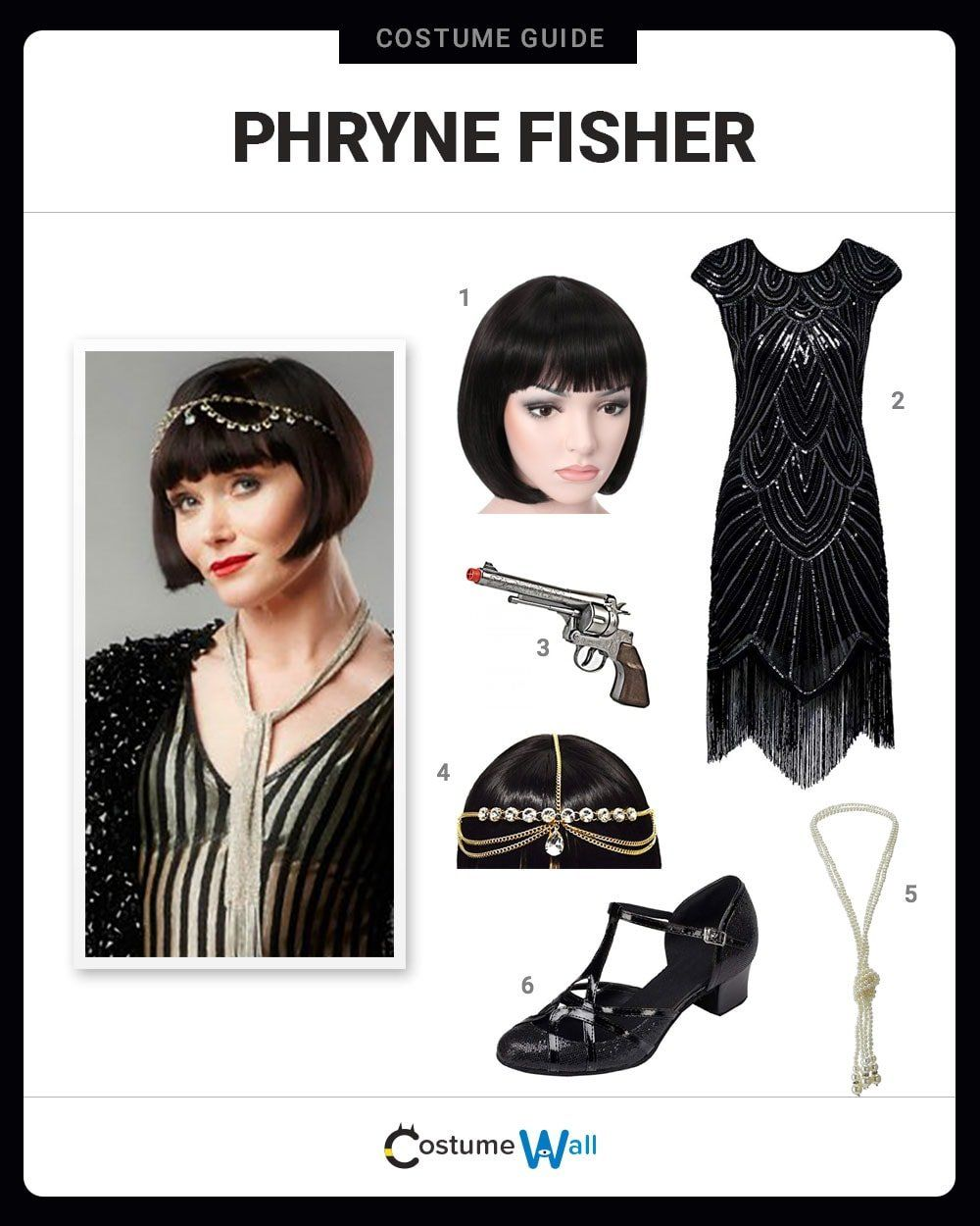 Dress Like Phryne Fisher Costume Halloween and Cosplay