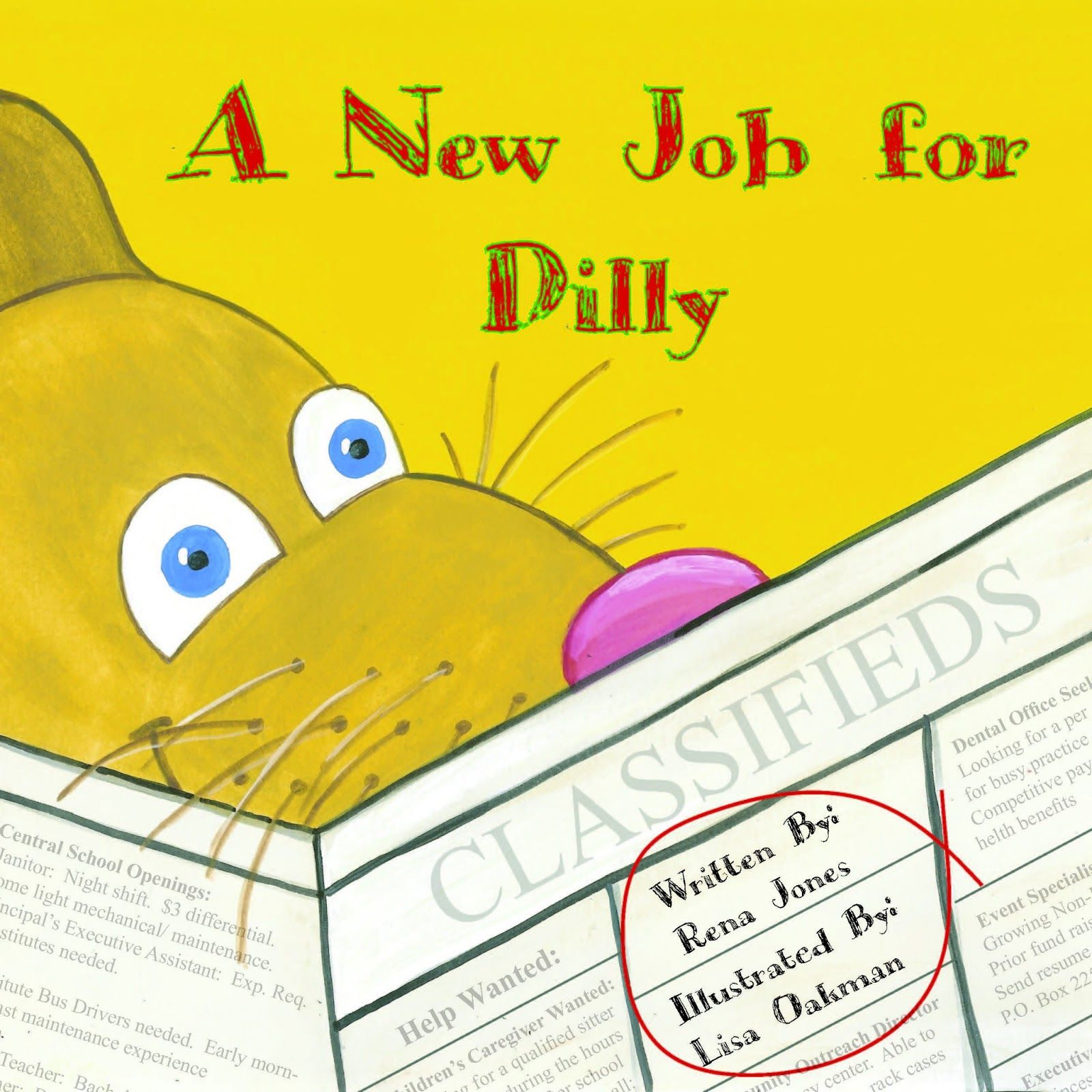 Dilly from A New Job For Dilly