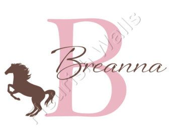 Horse Decal Girls Room - Bing Images