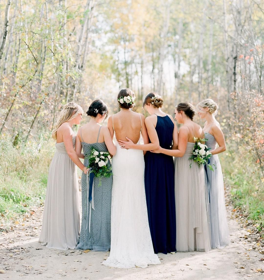 12 of the most swoon inducing mismatched bridesmaid dress looks on 12 of the most swoon inducing mismatched bridesmaid dress looks on insta ombrellifo Gallery