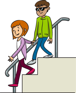 boy going down stairs clipart behavior rules routines rh pinterest com
